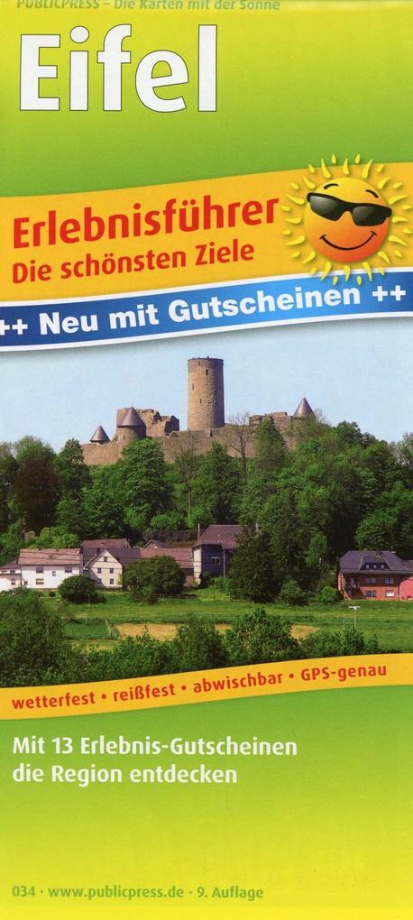 Eifel 1 : 170 000 als Buch von