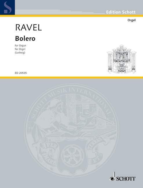 Bolero als Buch von Maurice Ravel