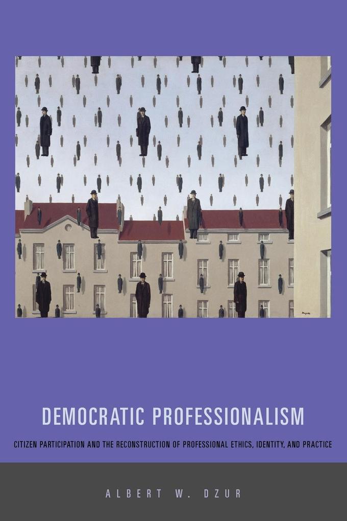 Democratic Professionalism als Taschenbuch von Albert W. Dzur