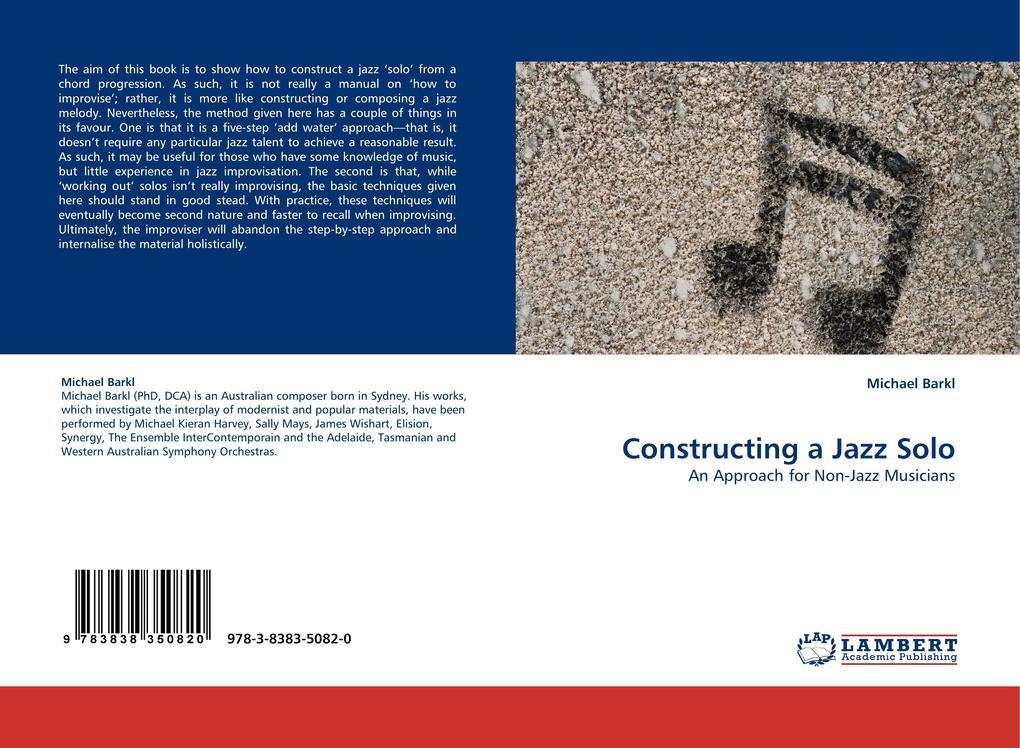 Constructing a Jazz Solo als Buch von Michael Barkl