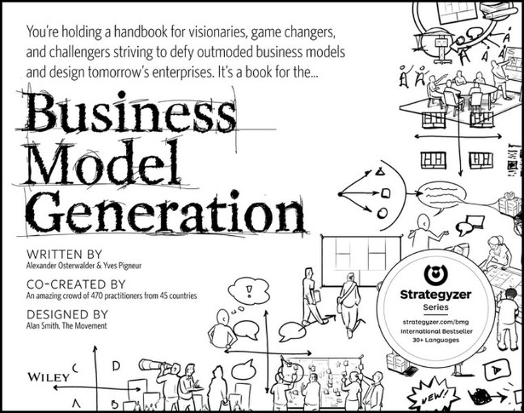 Business Model Generation als Buch von Alexander Osterwalder, Yves Pigneur