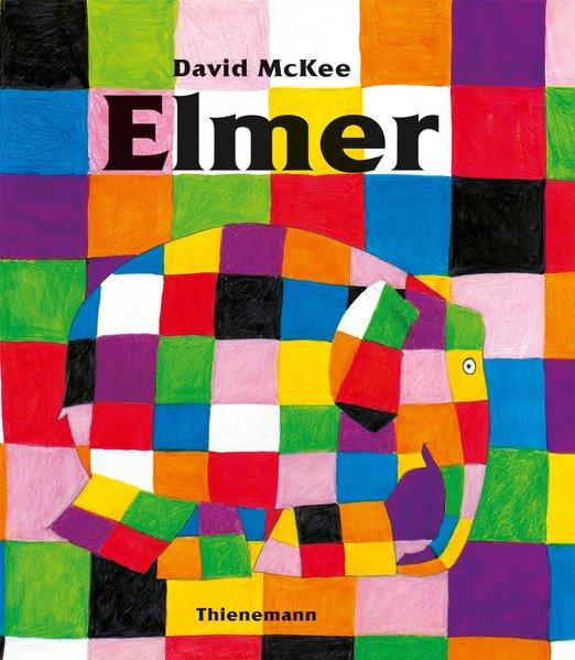 Elmer. Englische Ausgabe als Buch von David McKee
