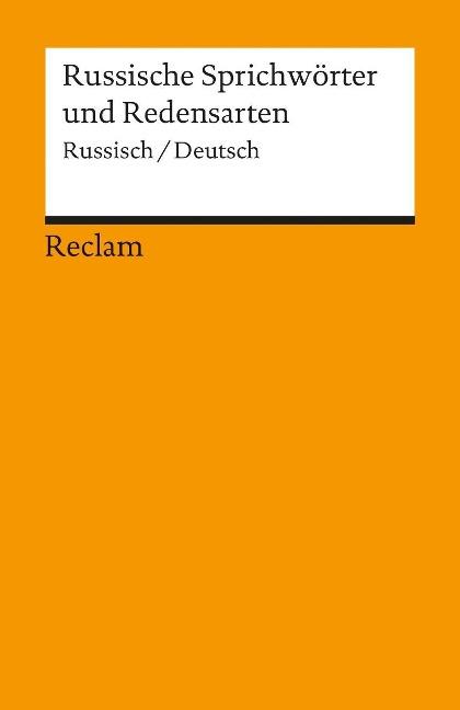 Russische Sprichwörter und Redensarten als Taschenbuch von