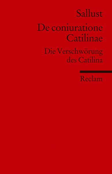 De coniuratione Catilinae als Taschenbuch von Sallust