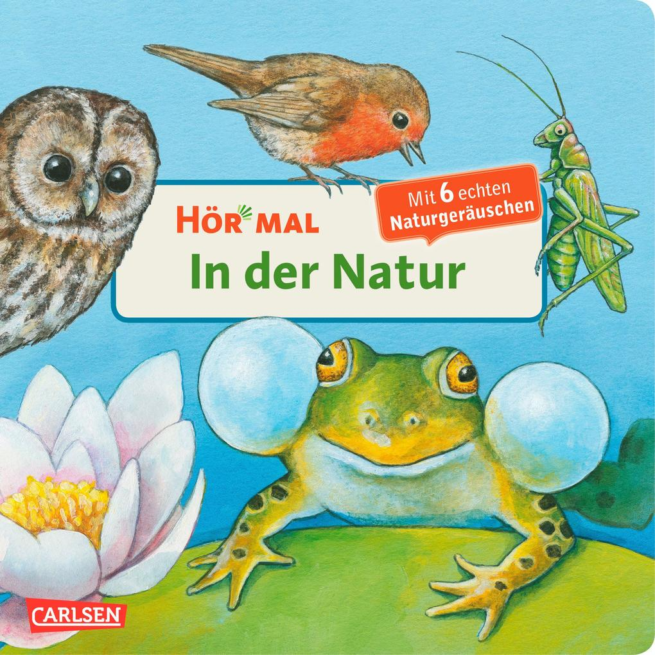 Hör mal - In der Natur/Mit 6 echten Naturgeräuschen als Buch von Anne Möller