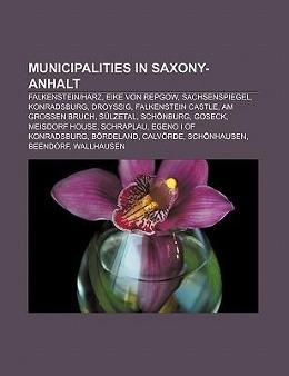 Municipalities in Saxony-Anhalt als Taschenbuch...