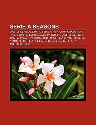 Serie A seasons als Taschenbuch von
