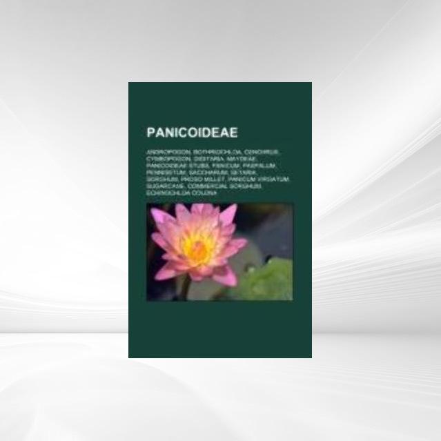 Panicoideae als Taschenbuch von