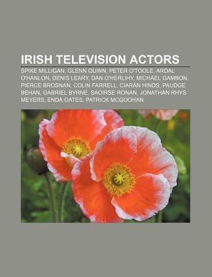 Irish television actors als Taschenbuch von