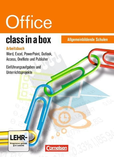 class in a box - Microsoft Office 2010. Office Professional 2010. Arbeitsbuch Allgemeinbildende Schulen als Buch von Reinhard Atzbach