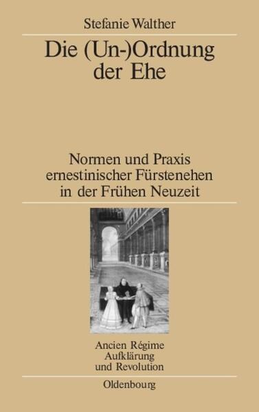 Die (Un-)Ordnung der Ehe als Buch von Stefanie Walther
