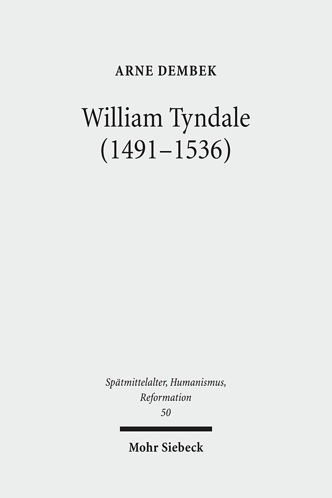 William Tyndale (1491-1536) als Buch von Arne Dembek