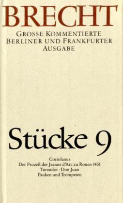 Stücke 9 als Buch von Bertolt Brecht, Bertolt Brecht