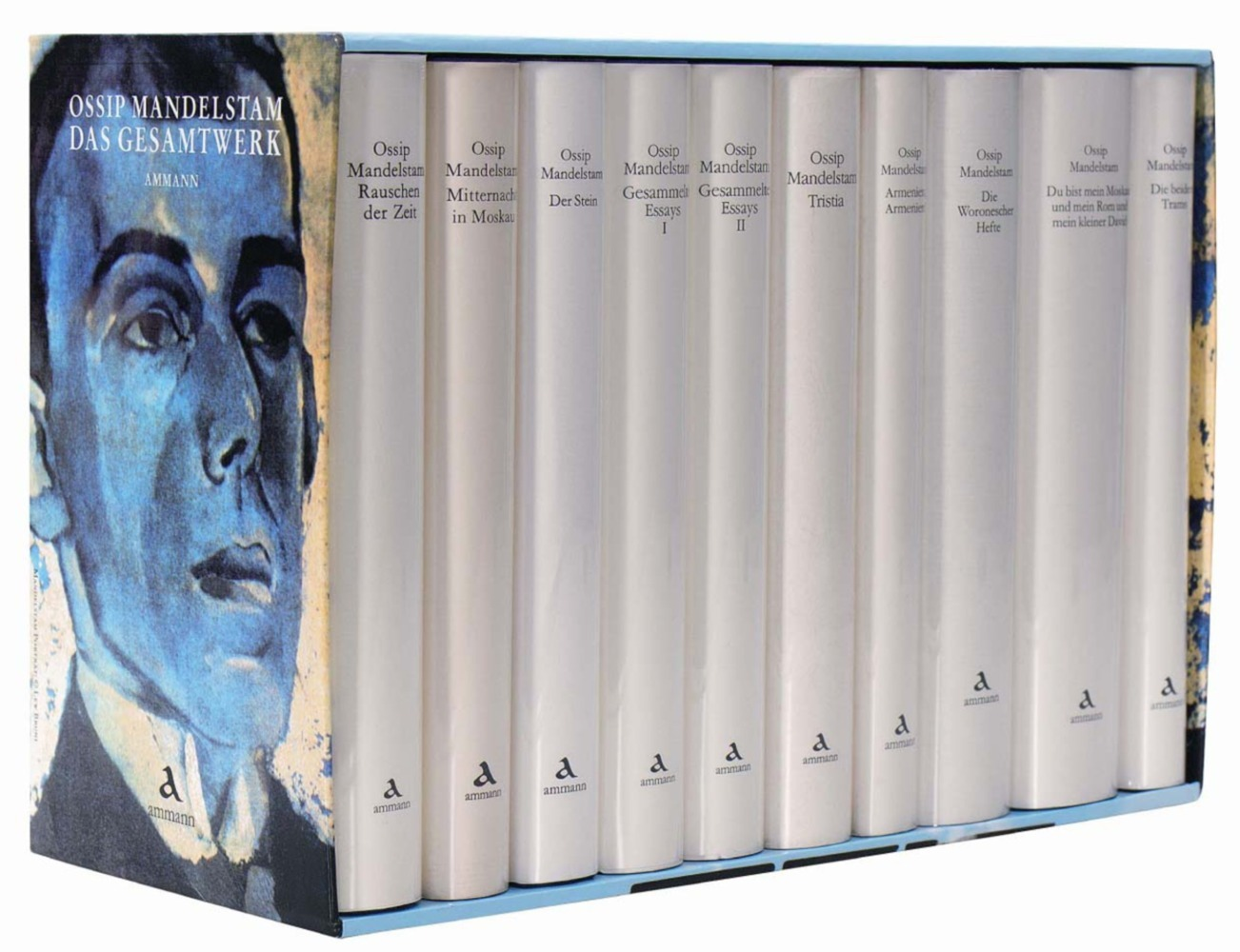 Das Gesamtwerk in Kassette. 10 Bände als Buch von Ossip Mandelstam