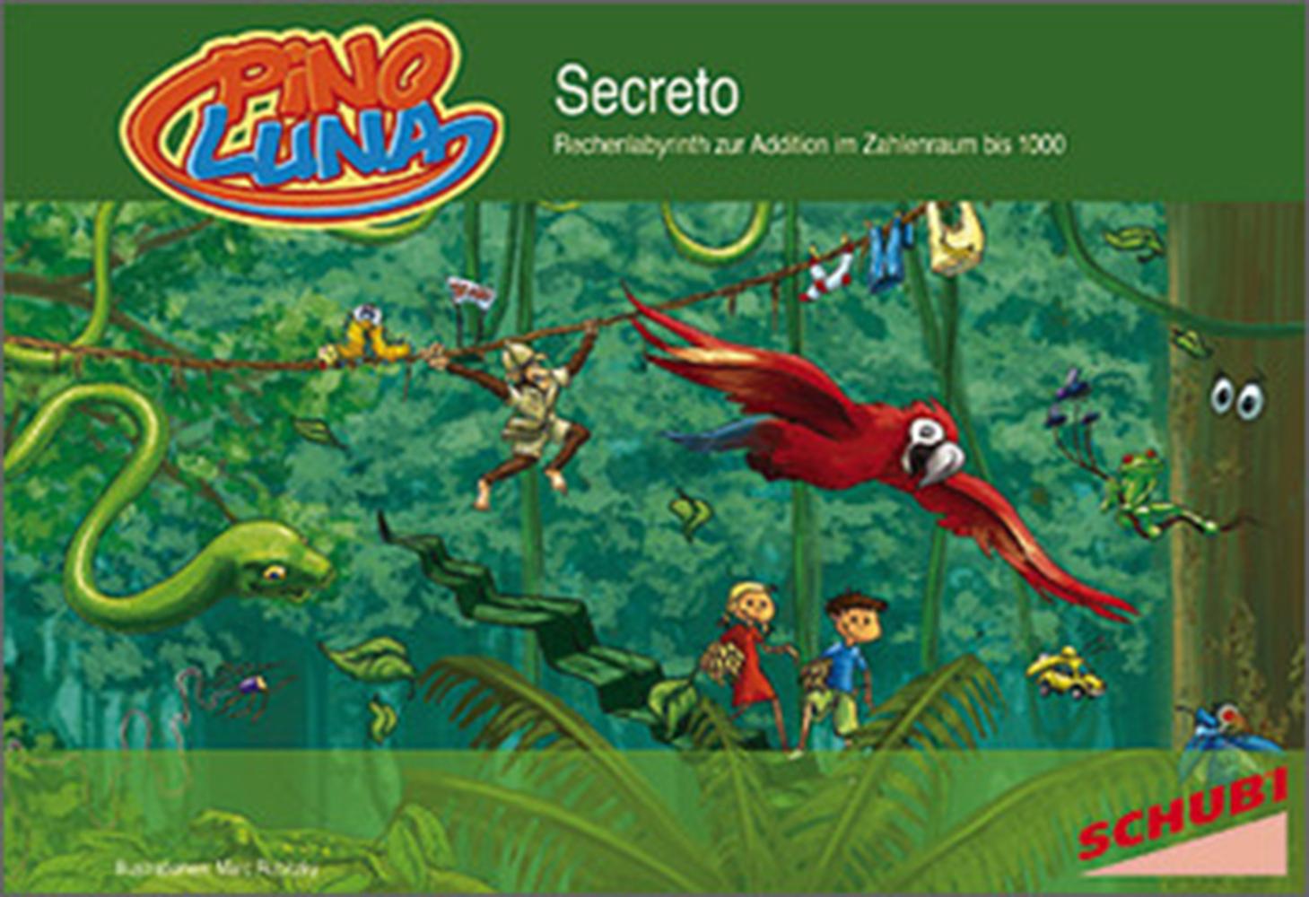 Pinoluna Secreto - Lernlabyrinth Addition bis 1000 als Buch von