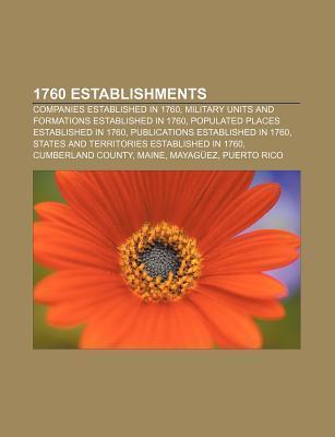 1760 establishments als Taschenbuch von