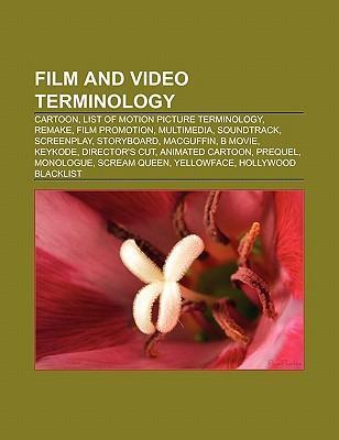Film and video terminology als Taschenbuch von
