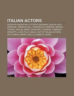 Italian actors als Taschenbuch von