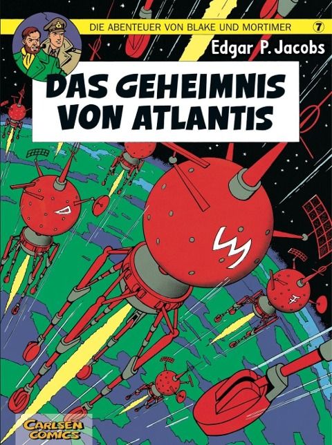 Die Abenteuer von Blake und Mortimer 07. Das Geheimnis von Atlantis als Buch von Edgar-Pierre Jacobs