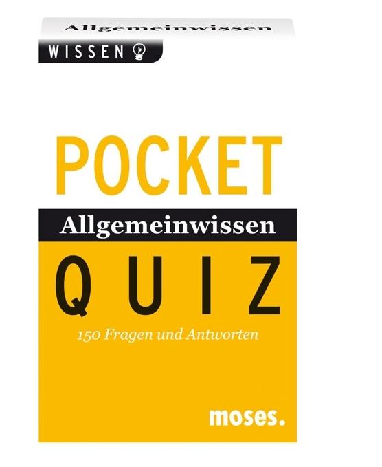 Allgemeinwissen von A - Z. Pocket Quiz als Buch von Frederique Blau, Francoise Baritaud