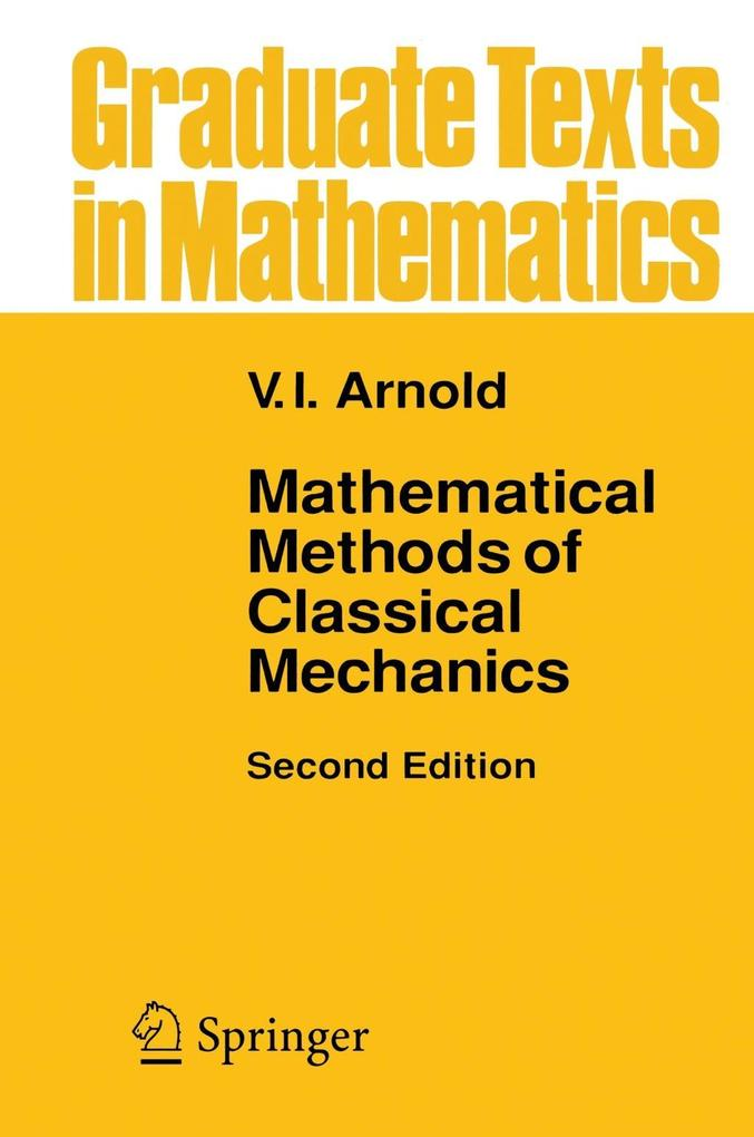 Mathematical Methods of Classical Mechanics als Buch von V. I. Arnol'd