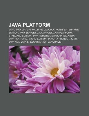 Java platform als Taschenbuch von