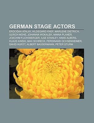 German stage actors als Taschenbuch von