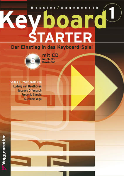 Keyboard-Starter I. Inkl. CD als Buch von Jeromy Bessler, Norbert Opgenoorth