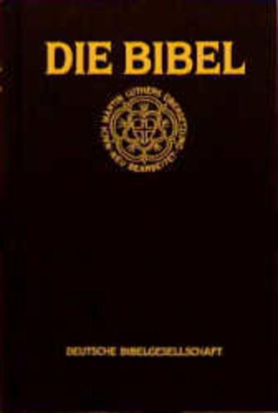 Die Bibel (Standardausgabe schwarz) als Buch von