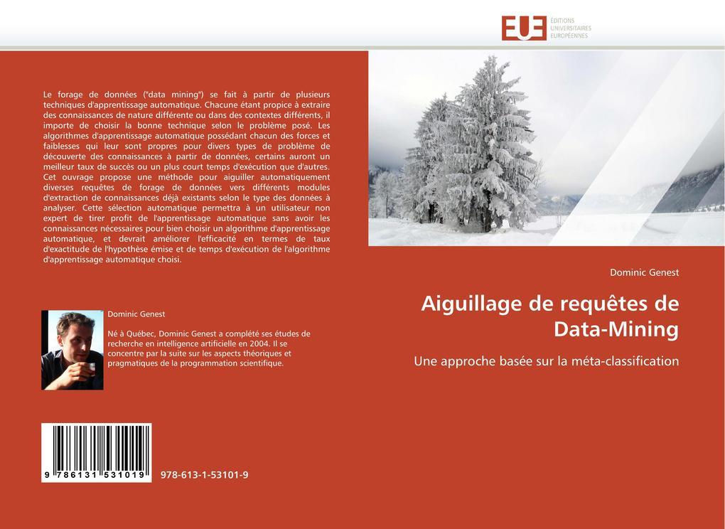 Aiguillage de requêtes de Data-Mining als Buch von Dominic Genest - Editions universitaires europeennes EUE