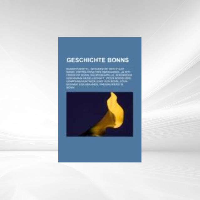 Geschichte Bonns als Taschenbuch von