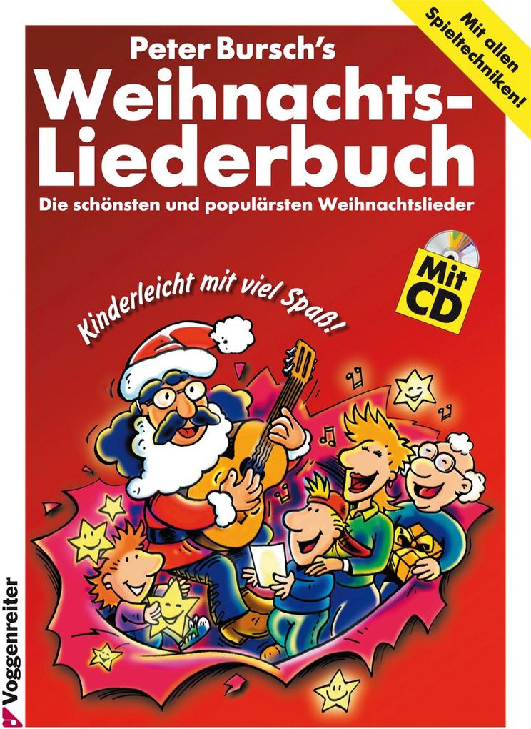 Peter Burschs Weihnachtsliederbuch. Inkl. CD als Buch von Peter Bursch
