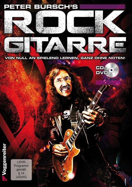 Rock Gitarre. Inkl. CD als Buch von Peter Bursch