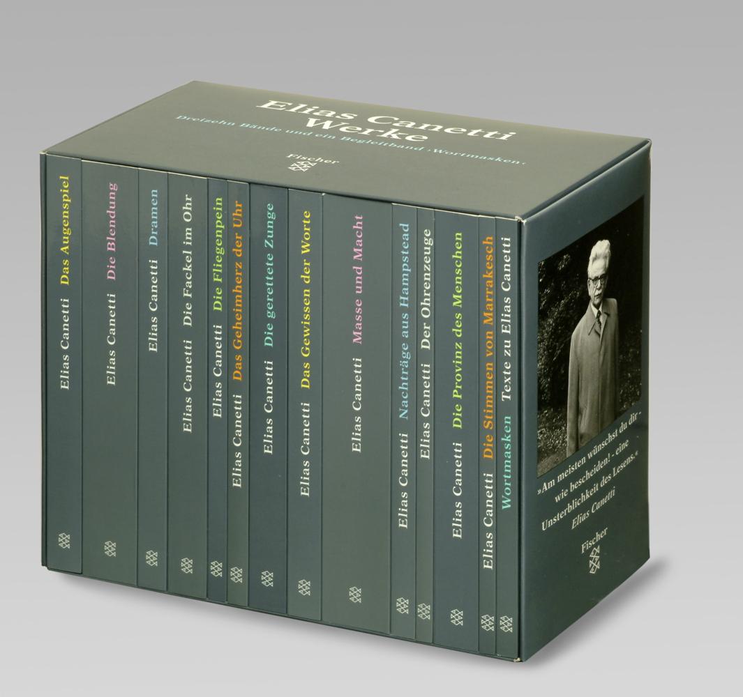 Werke als Taschenbuch von Elias Canetti