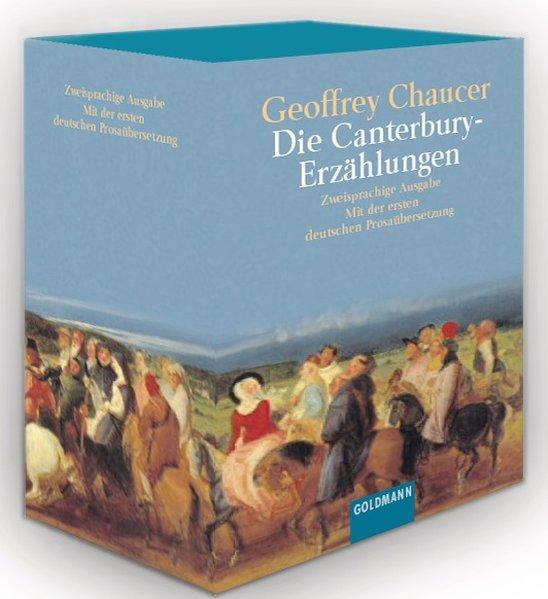 Die Canterbury-Erzählungen als Taschenbuch von Geoffrey Chaucer