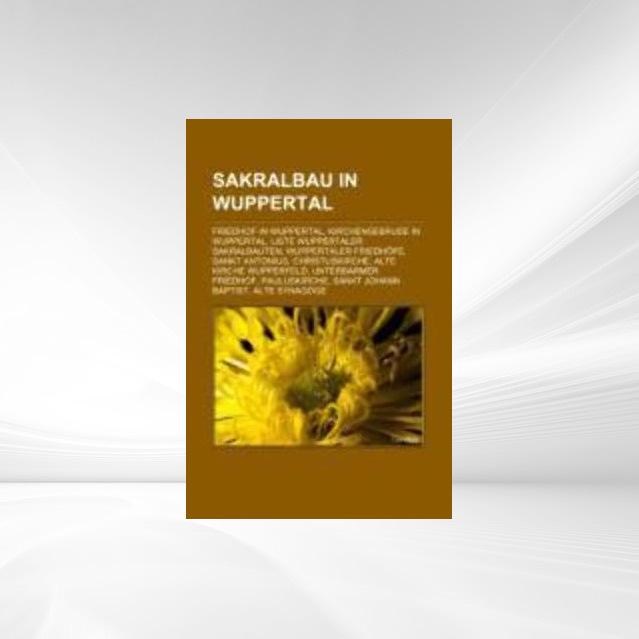 Sakralbau in Wuppertal als Taschenbuch von