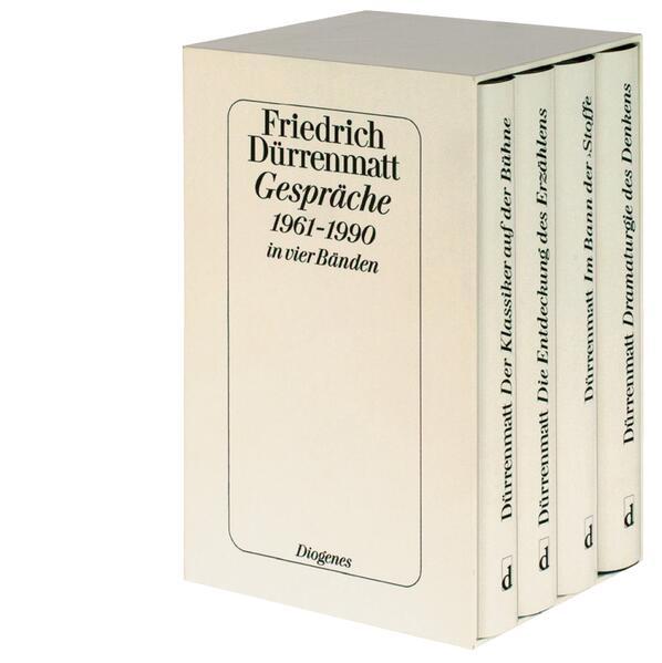 Gespräche 1961-1990 in vier Bänden als Buch von Friedrich Dürrenmatt
