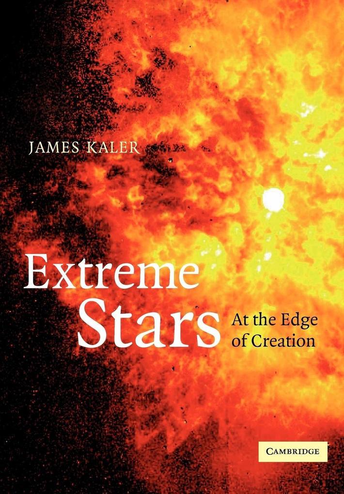 Extreme Stars als Buch von James B. Kaler