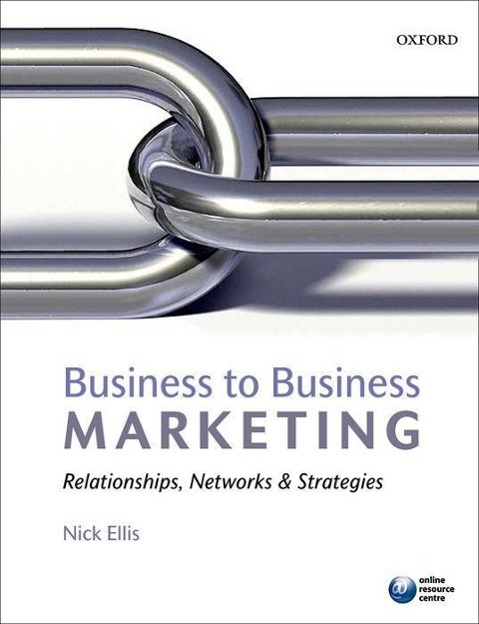 Business to Business Marketing als Buch von Nick Ellis
