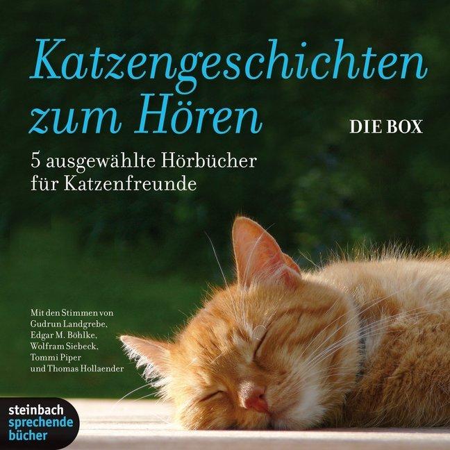 Katzengeschichten zum Hören als Hörbuch CD von