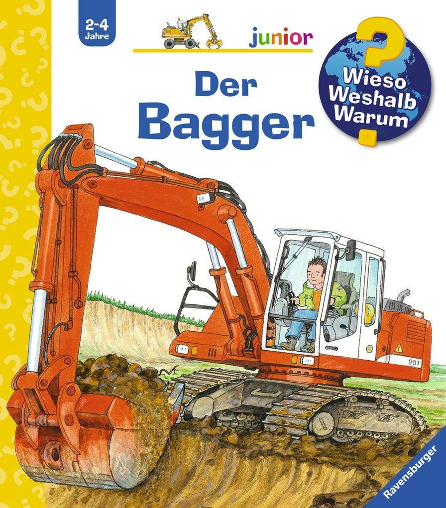 Der Bagger als Buch von Andrea Erne
