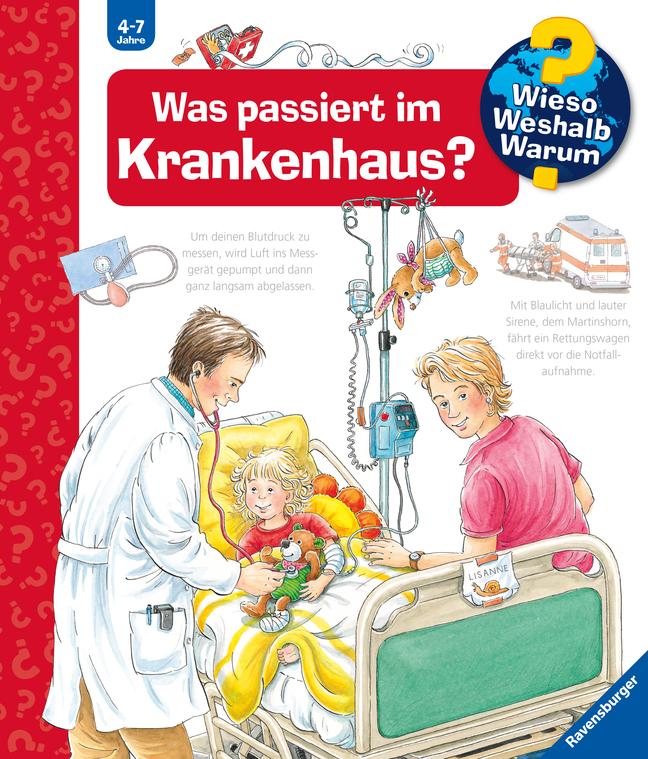 Was passiert im Krankenhaus? als Buch von Andrea Erne