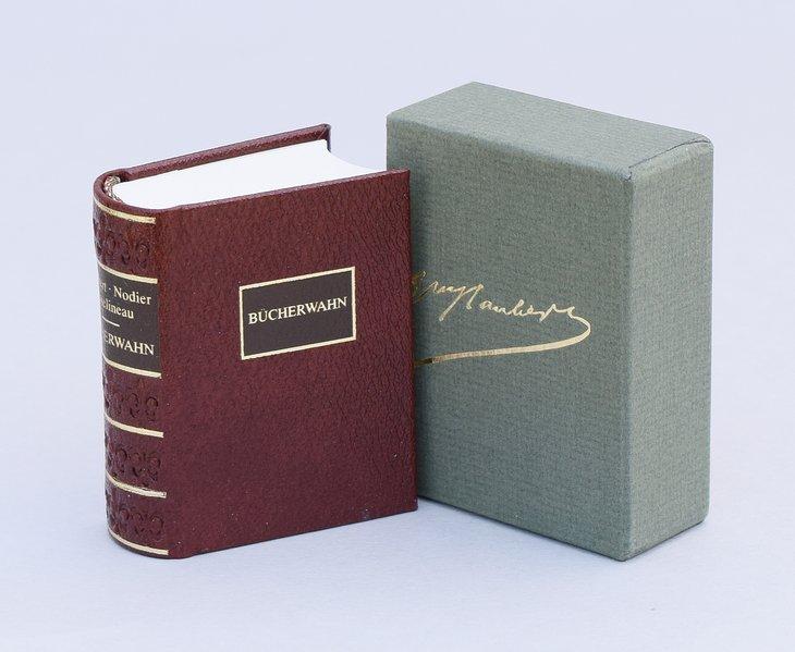 Bücherwahn als Buch von Gustave Flaubert, Charles Nodier, Charles Asselineau