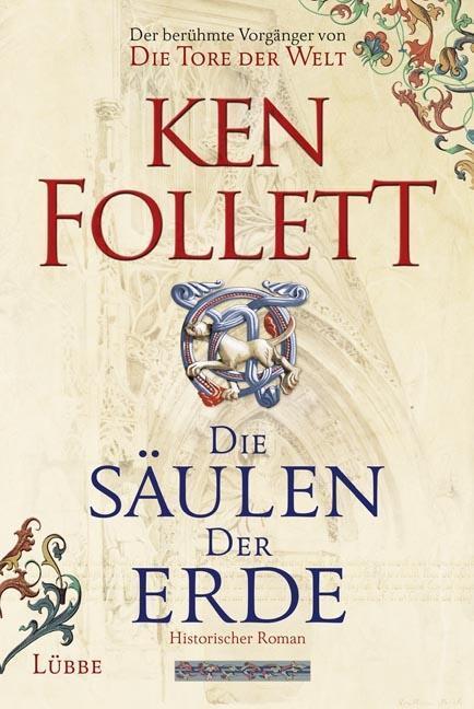 Die Säulen der Erde als Buch von Ken Follett