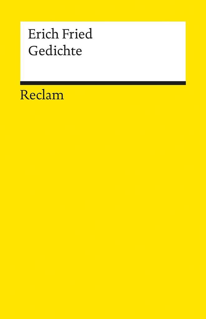 Gedichte als Taschenbuch von Erich Fried