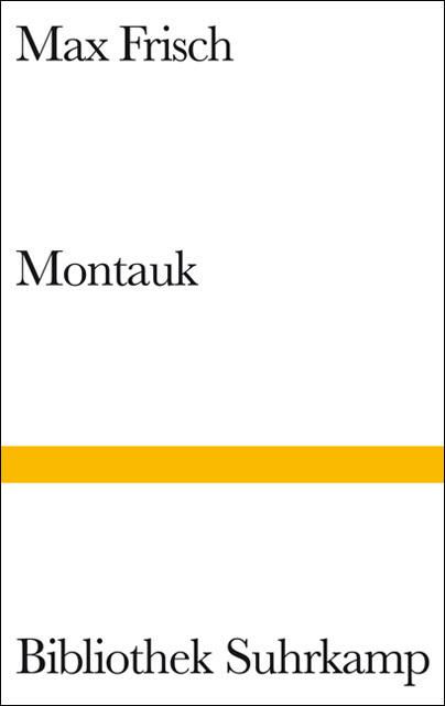 Montauk als Buch von Max Frisch
