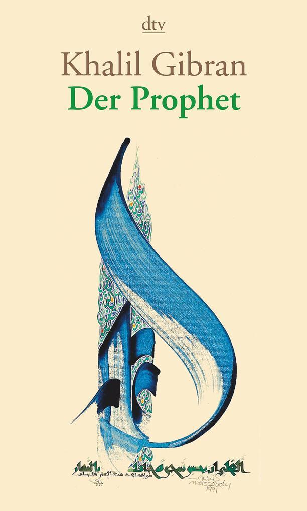 Der Prophet als Taschenbuch von Khalil Gibran