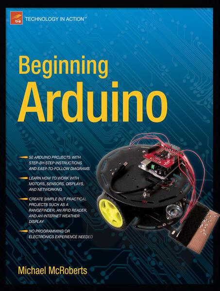 Beginning Arduino als Taschenbuch von Michael McRoberts
