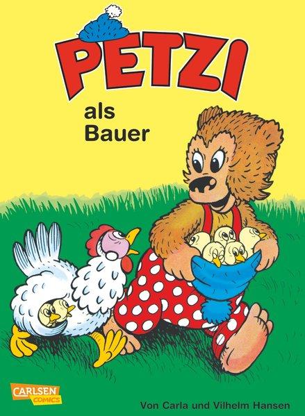Petzi 09. Petzi als Bauer als Buch von Carla Hansen, Vilhelm Hansen