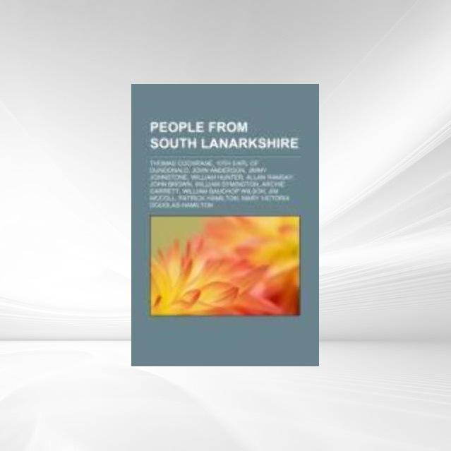 People from South Lanarkshire als Taschenbuch von